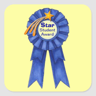 Star Student Award Stickers