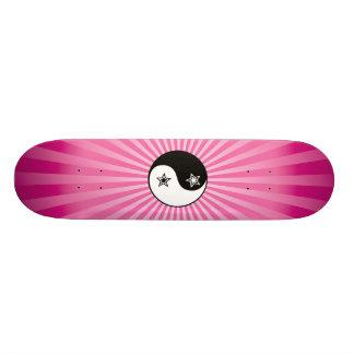 Star Sunburst Yin Yang Skateboard