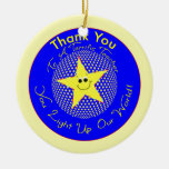 Star Teacher Thank You from Class Ornament