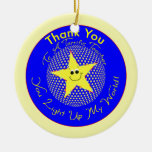 Star Teacher Thank You from Student Ornament