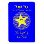 Star Teacher Thank You Magnets