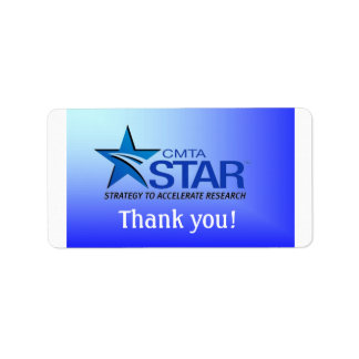 STAR Thank You Label