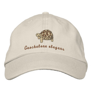 Star Tortoise (embroidered) Embroidered Hat
