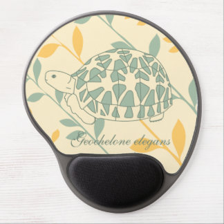 Star Tortoise Mousepad (green branches)