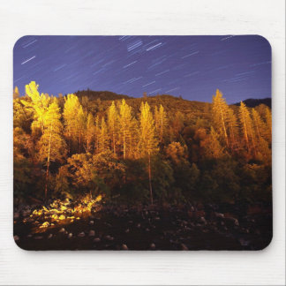 Star Trail Mousepad in Yosemite California
