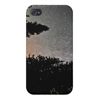 Star trails iPhone case iPhone 4 Cases