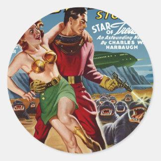 Star Treasure Classic Round Sticker