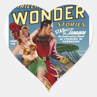 Star Treasure Heart Sticker