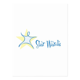 Star Wards Postcard