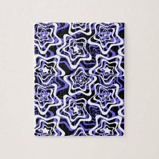 Star white ,blue,black 2 puzzle