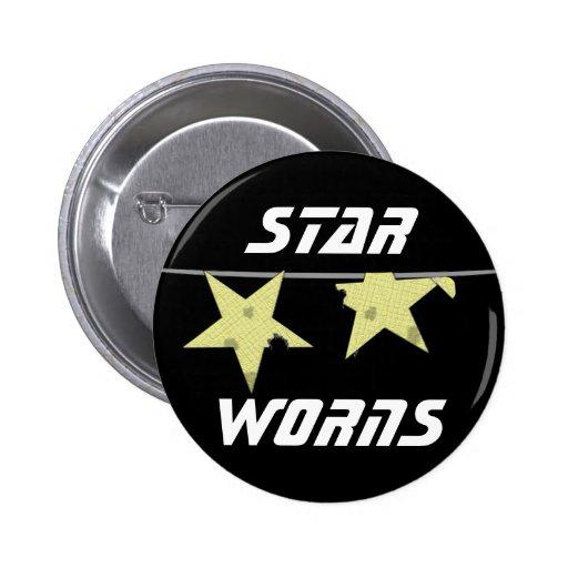 Star Worns Humor Pin