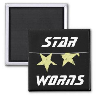 Star Worns Humor Fridge Magnet