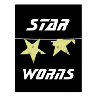 Star Worns Humor Postcard