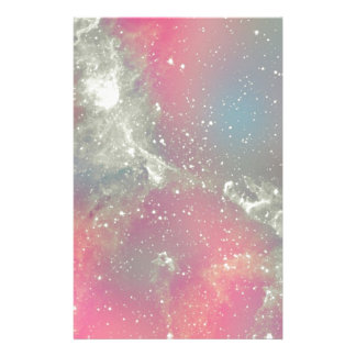 Starbabe Nebula Pastel Galaxy Custom Stationery