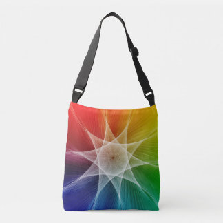 Starburst and Colorpicker Crossbody Bag