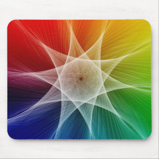 Starburst and Colorpicker Mouse Pad