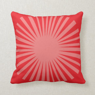 Starburst Daisy Throw Pillow