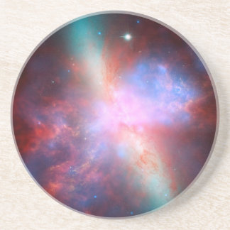Starburst Galaxy M82 Coaster