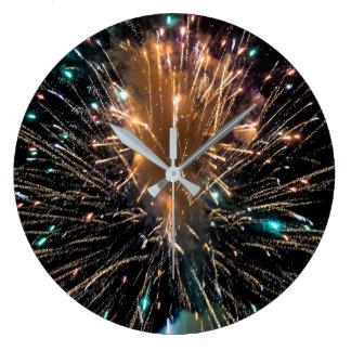 Starburst Large Clock