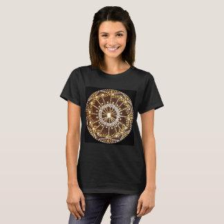 Starburst Mandala, Golden Chakra t-shirt