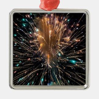 Starburst Metal Ornament