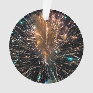Starburst of Sparkling Color Ornament