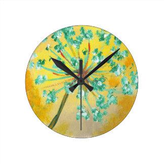 starburst round clock