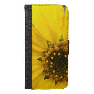 Starburst Sunflower iPhone 6/6s Plus Wallet Case