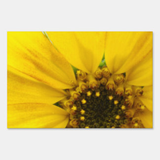 Starburst Sunflower Sign
