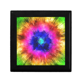 Starburst Tie Dye Watercolor Gift Box