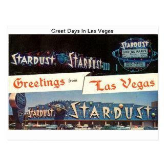 Stardust ( Great Days In Las Vegas) Postcard
