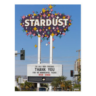 Stardust Las Vegas Marquee Postcards