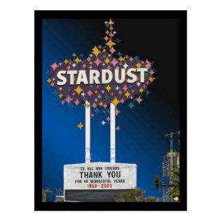Stardust Las Vegas Vector Graphic Postcards #14