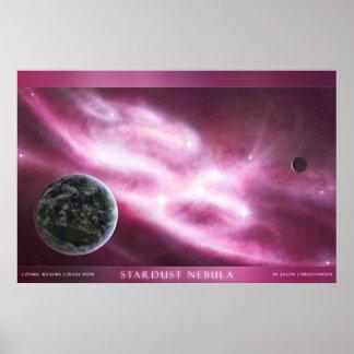 Stardust Nebula Poster