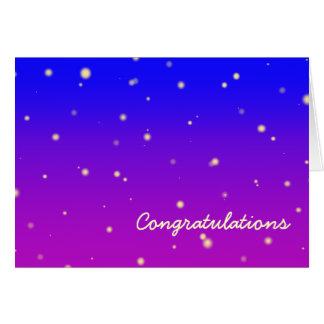 Starfield Congratulations Card