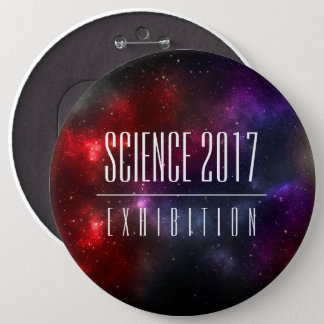 Starfield Science Sci Fi Convention / Exhibition 6 Inch Round Button