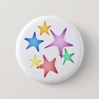 Starfish 2 Inch Round Button