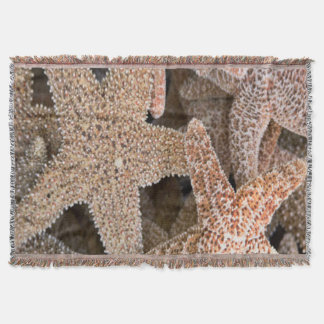 Starfish all around throw blanket
