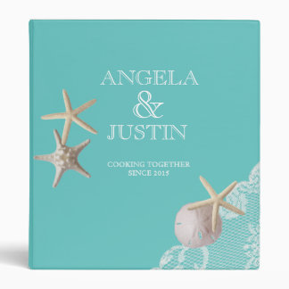 Starfish and Lace Beach Recipes Binder