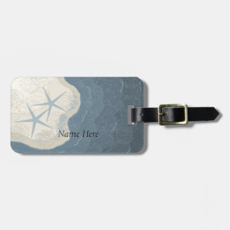 Starfish and Ocean Luggage Tag