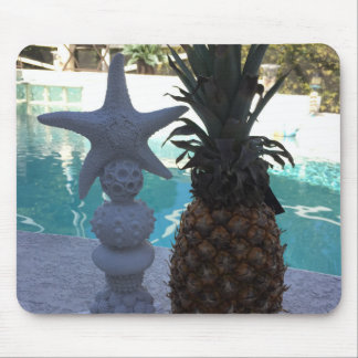 Starfish and Pineapples Mouse Pad
