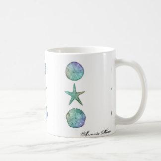Starfish and Sand dollar Mug