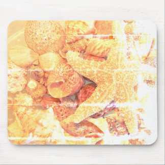 Starfish and Sea Shells- Mouse Pad