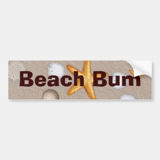 Starfish and Seashells Beach Theme Gifts Bumper Stickers