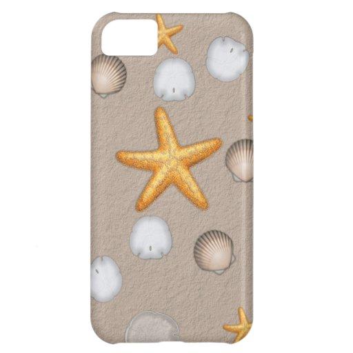 Starfish and Seashells Beach Theme Gifts iPhone 5C Covers