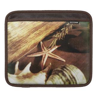Starfish and Shells iPad Sleeve