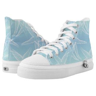 Starfish Aqua Blue Beach Shoes