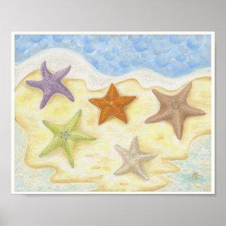 Starfish Art Print 8x10