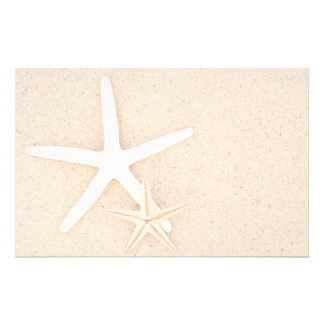 Starfish at the Beach Stationery