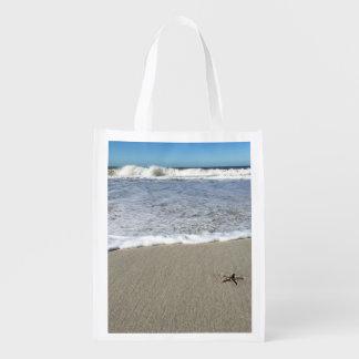 Starfish beach bag market tote